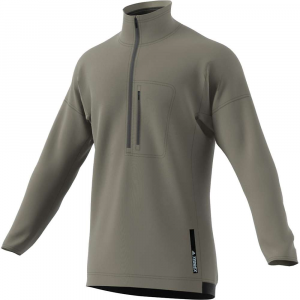 Image of Adidas Men's Terrex Tivid 1/2 Zip Fleece Top