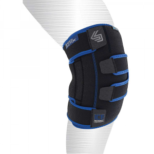 Image of Shock Doctor Ice Recovery Knee Compression Wrap