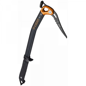 camp usa x light hammer axe- Save 14% Off - Features of the Camp USA X Light Hammer Axe A superlight and versatile tool for the Technical alpinist Hot-forged aluminum alloy head allows for 3 configurations: pick and adze, pick and hammer, pick only T-rated chromoly steel pick and T-rated 7075-T6 aluminum alloy shaft Stainless steel adze and hammer Removable X-Alp grip has a soft hand for good grip and can be swapped with the X-Dry grip and spike for leashless Climbing Interchangeable steel spike X-Trigger Fast pommel is adjustable without tools Carabiner holes at the head and spike