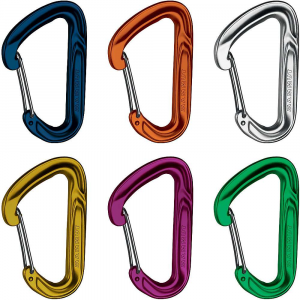 mammut wall light sixpack carabiner- Save 29% Off - Features of the Mammut Wall Light Sixpack Carabiner Ultra-lightweight and user-friendly Coordinating with different sizes of protection Such as nuts and cams Rack it up