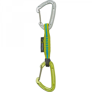 edelrid mission set carabiner- Save 20% Off - Features of the Edelrid Mission Set Carabiner Extremely lightweight Mission carabiners with an ultra-strong 11/17 mm polyamide sling Lightweight wire gates reduce whip-lash effect on the gate in a fall Antitwist fixing on lower carabiner