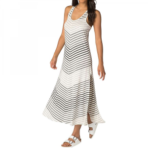 Image of Beyond Yoga Women's Bring It Ommmbre Striped Midi Dress