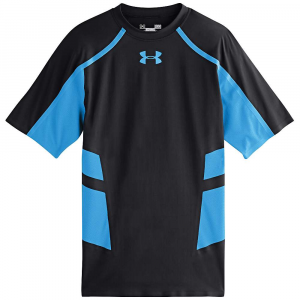 under armour men's heatgear armour stretch shortsleeve shirt- Save 33% Off - Features of the Under Armour Men's Heatgear Armour Stretch Shortsleeve Shirt Lightweight ArmourStretch fabric powers your game with a second-skin feel you can wear all day Stretch-mesh side and underarm panels provide strategic ventilation 4-way stretch fabrication allows greater mobility and maintains shape Signature Moisture Transport System wicks sweat away from the body Anti-odor Technology prevents the growth of odor causing microbes Bonded seam construction for a smooth next-to-skin feel