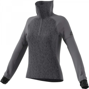 Image of Adidas Women's Peformance Baseline 1/4 Zip Top
