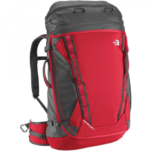 the north face ice project pack- Save 35% Off - Features of The North Face Ice Project Pack Codesigned with conrad anker Doctor's bag-style crampon pocket Exterior-access slash pocket Jacket/gloves/harness pocket Removable ice-screw organizer Fruit boots/bottle pocket File pocket Space to organize four ice axes and cover their tips Luggage-style full opening that doubles as a padded seat Helmet carry Ice-screw holders and tool loop on hipbelt Heavy-duty fabrics for extreme durability