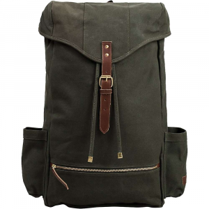 united by blue atlas backpack- Save 20% Off - The United By Blue Atlas Backpack is a hiking pack for lovers of nature and old school looks. Made from waxed organic cotton canvas with vegetable tanned leather accents and durable brass hardwAre, this pack is the largest in the series and holds up to the abuse of nature. It's water resistant to protect what you've stored inside and is always ready for a day hike into the Woods. When you're not on the trail it'll even hold onto your laptop and other electronics, but always carries a water bottle in one of the side pockets. Zip your small essentials into the bottom zipper pouch for quick access while on the go. Features of the United By Blue Atlas Backpack Fold-over flap with buckle closure Grab handle with Dual padded shoulder straps Padded Upper and lower back for comfort Additional waist and chest support with cross chest strap 2 Exterior side panel water bottle pockets Top exterior zipper compartment for sunglasses, wallet, keys, etc. Lower front zipper pocket Drawstring closure Downpour proof - water repellent protection Solid brass hardwAre and YKK zipper Vegetable tanned leather