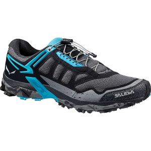 salewa women's ultra train shoe- Save 20% Off - The Salewa Women's Ultra Train Shoe is a mountain training shoe for moving fast in rough terrain. Whether you're hiking fast or hitting the trails at the run, the MICHELIN; Technical Soles will see you through with their aggressive lugs and traction. The Motion Guidance Midsole supports your foot as you move quickly and the cinch-able quick lace provides security and comfort. Features of the Salewa Women's Ultra Train Shoe Optimal comfort, stability and increases foot control where needed The sole and Midsole Are developed in synergy to support the natural movement of the foot and provide excellent sure-footedness over any terrain The Adaptive Eyelets work with the 3F Total System to increase the overall wrapping Fit and comfort of the mid-foot Michelin Ultra Train: Lower grooves, small sculptures, longitudinal flex grooves, and the Michelin Outdoor Compound provide outstanding traction and stability over hard terrain