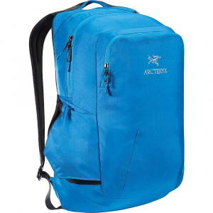 arcteryx pender backpack- Save 10% Off - The Arc'Teryx Pender Backpack is a small daypack for bringing your computer and books to work or school. The panel loading pack Features a padded sleeve for 15 inch laptops and space for your extra layer, books, and lunch. The front pocket organizes smaller Items and a fleece lined pocket protects sunglasses or phone. Grab a water bottle and tuck it into the side pocket for on-the-fly thirst management. Finished off with that clean and classy Arc'Teryx look, it'll go just as well with your favorite sweater as it does a pair of torn jeans. Features of the Arcteryx Pender Backpack Top loading main compartment holds digital tools, books, jackets, lunch Padded internal compartment holds and protects laptops up to 15 inches Padded front pocket holds and protects tablet or small laptop External front pocket / organizer Fleece lined pocket protects fragile Items Large front organizer with phone slot and key clip External water bottle pocket lies flat when not in use Padded top handle integrated in the shoulder strap for a secure grip Adjustable shoulder straps Padded, contoured shoulder straps A side water bottle pocket lies flat when not in use