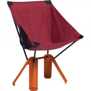 therm-a-rest quadrapod chair- Save 37% Off - The Therm-a-Rest QuadraPod Chair is a tote-able chair for camp and trail. Keep it in your pack, stow it in your trunk, bring it out whenever you need to find a seat. It may look small but it's plenty sturdy, with the ability to accommodate up to 300 lbs. Plenty of height, plenty of depth, just right for kicking back and enjoying a cold one. Features of the Therm-a-Rest QuadraPod Chair Composite base with non-skid feet 7000-series aluminum poles and 600D Polyester ripstop sling Mesh side pocket keeps books, phones and beverages handy 13in. seat height makes getting in and out easy Integrated closure/carry handle secures package for easy transport