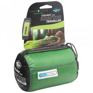 Image of Sea to Summit Adaptor Coolmax Traveller Liner with Insect Shield