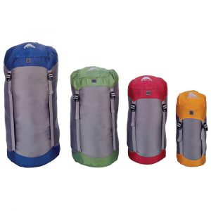 kelty compression stuff sack- Save 25% Off - The Compression Stuff Sack by Kelty. Kelty's Compression Stuff Sacks increase the available room in your backpack by compressing sleeping bags, clothing, and other gear. Features of the Kelty Compression Stuff Sack Four vertical compression straps Quick-release buckles Hidden storage pocket Self-stuffs into storage pocket