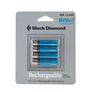 Image of Black Diamond AAA Rechargeable Battery 4 Pack