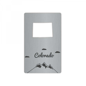 Image of Zootility Tools Colorado Wallet Bottle Opener