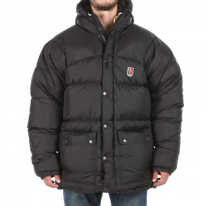 fjallraven men's expedition down jacket- Save 16% Off - Features of the Fjallraven Men's Expedition Down Jacket Classic Fjallraven down jacket 2 separate layers in down for extreme warming effect Polyester filling over the shoulders to keep the shape of the jacket 2-way opening front pockets Carry bag in mesh Large, warm and comfortable Leather details