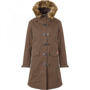 66North Women's Snaefell Parka with Fake Fur