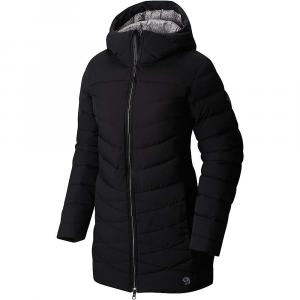 mountain hardwear women's downhill metro coat- Save 38% Off - Features of the Mountain Hardwear Women's Downhill Metro Coat Q?Shield Down resists heat-robing moisture and retains loft even when wet Slender, quilted channels trap maximum warmth and minimize bulk Cozy wrist and neck closures trap warmth and extend comfort range Secure, cozy zippered hand-warmer pockets and interior drop pockets for gear management