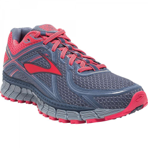 brooks women's adrenaline asr 13 trail running shoe- Save 19% Off - Features of the Brooks Women's Adrenaline ASR 13 Trail Running Shoe BIOMOGO DNA Midsole cushioning dynamically adapts to every step and stride Progressive diagonal roll bar guides the body back into its natural motion pattern Full-length segmented crash pad accommodates any foot landing and delivers smooth transitions V-groove folds deeper inward to disperse impact outward Rugged Outsole provides great traction on wet surfaces and tricky terrain DWR finish stands up to the elements
