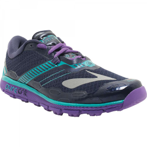 brooks women's puregrit 5 trail running shoe- Save 19% Off - Features of the Brooks Women's PureGrit 5 Trail Running Shoe BioMoGo DNA Midsole cushioning dynamically adaptsto every step and stride Omega Flex Grooves optimize flexibility Rounded heel provides better alignment, minimizingstress on joints Ballistic Rock Shield protects against potentialsurface hazards 3D Hex Lugs Are reinforced for added durability