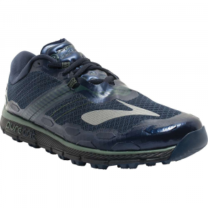 brooks men's puregrit 5 trail running shoe- Save 19% Off - Features of the Brooks Men's PureGrit 5 Trail Running Shoe BioMoGo DNA Midsole cushioning dynamically adaptsto every step and stride Omega Flex Grooves optimize flexibility Rounded heel provides better alignment, minimizingstress on joints Ballistic Rock Shield protects against potentialsurface hazards 3D Hex Lugs Are reinforced for added durability