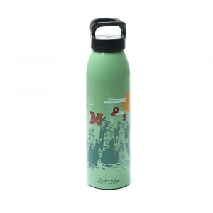 moosejaw liberty bottleworks rocky mountain high aluminum water bottle- Save 47% Off - Bottled water from a grocery store generates a lot of waste. And it's pricey. Plus those clear plastic bottles Are boring. Do the environment a favor, do your budget a favor and do your personality a favor and check out a reusable water bottle. The Moosejaw Liberty Bottleworks Rocky Mountain High Aluminum Water Bottle might just be the bottle for you. It has mountains on it. Mountains Are great. Features of the Moosejaw Liberty Bottleworks Rocky Mountain High Aluminum Water Bottle 24oz capacity with an easy ? turn locking lid BPA Free flexible food-grade coating ensures no chips or bacteria build up Digitally printed art done with cylindrical printers create graphics you can feel Made in the good ol? USA