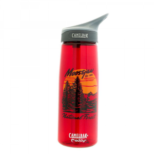 moosejaw camelbak fake plastic trees .75l water bottle- Save 30% Off - The Moosejaw CamelBak Fake Plastic Trees .75L Water Bottle is a drinking vessel with a bunch of trees on it. Holding 25 ounces of watery goodness, you'll be hydrated at work, on a hike, or just hanging out with your best buds. Grab onto the loop up top for easy carrying, or clip it directly to your backpack. The Big Bite Valve is easy to bite down on, get your drink on, then flip back down to prevent spillage. Features of the Moosejaw CamelBak Fake Plastic Trees .75L Water Bottle Hydration Capacity: 25 oz / .75 liter New CamelBak Big Bite Valve is compatible with CamelBak Teddy and CamelBak Groove bottles Easy to Carry: Integrated loop handle makes it easy to clip a carabiner or carry with the crook of a fingerDurable and spill-proof Dishwasher Safe: All parts Are top-rack dishwasher safe New, sleek shape Fits in the hand and most cup holders Redesigned cap and bite valve provide faster flow and enhanced durability Flip, Bite and Sip No tipping required (Though Possible: Just remove the straw) Wide-mouth opening is easy to fill with ice and water and a breeze to clean 100% BPA-Free
