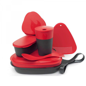 light my fire mealkit 2.0- Save 16% Off - Features of the Light My Fire MealKit 2.0 Lid/plate, designed with round corners to allow you to Spork up every little bit Bowl/plate with Spork holder Pack-up-Cup with lid, collapsible and measuring lines Combined strainer and cutting Board SnapBox original, waterproof and measuring lines SnapBox oval, waterproof and measuring lines Harness to keep everything tight inside Easy to clean Made of taste-free material Microwave safe Dishwasher safe Floats Stackable