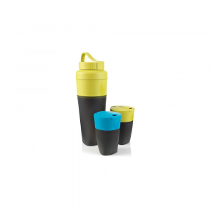 light my fire pack-up-drink kit- Save 14% Off - Features of the Light My Fire Pack-Up-Drink Kit Expand to drink, collapse to carry The tight attached lid keeps your beverage warm and protects it from dirt Easy to clean Collapsible Dishwasher safe Microwave safe