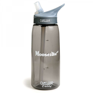 moosejaw camelbak eddy 1l water bottle- Save 30% Off - Do you have 1 liter of water and no place to put it? Wouldn't it be nice if there were a handy 1 liter bottle with a fold out straw and a convenient carabiner loop? That's what I'd sound like if I were a Salesman on a home shopping show.