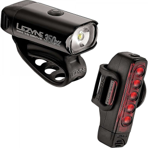 Image of Lezyne Hecto Drive 350XL / Strip LED Cycling Light Pair