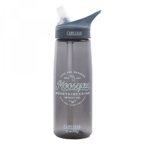 moosejaw camelbak circle of life eddy .75l water bottle- Save 30% Off - Are you tired of walking to a drinking fountain whenever you get thirsty? Like an animal flocking to a watering hole. Are you sick of molding your life around water sources? Well get this, we have discovered a way to take water with you. Hear me out. With the Moosejaw CamelBak Circle of Life Eddy .75L Water Bottle, you can drink on the go. Thirsty? Take a sip from the convenient flip-up bite valve straw. Not thirsty? Then don't take a sip. The spill-proof lid and carabiner clip will ensure that water will be there when you need it. Features of the Moosejaw CamelBak Circle of Life Eddy .75L Water Bottle Hydration Capacity: 25 oz / .75 liter New CamelBak Big Bite Valve is compatible with CamelBak Teddy and CamelBak Groove bottles Easy to Carry: Integrated loop handle makes it easy to clip a carabiner or carry with the crook of a fingerDurable and spill-proof Dishwasher Safe: All parts Are top-rack dishwasher safe New, sleek shape Fits in the hand and most cup holders Redesigned cap and bite valve provide faster flow and enhanced durability Flip, Bite and Sip No tipping required (Though Possible: Just remove the straw) Wide-mouth opening is easy to fill with ice and water and a breeze to clean 100% BPA-Free