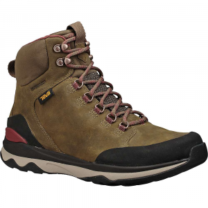 7183d05800c7 Features of The Teva Men s ArroWood Utility Tall Boot Waterproof-leather  Upper seals out the elements to keep your feet dry Neoprene Upper tongue  and collar ...