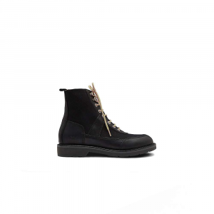 Hunter Men's Original Commando Canvas/Leather Boot – 9 – Black