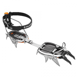 black diamond cyborg pro crampon- Save 25% Off - On Sale. Free Shipping. Black Diamond Cyborg Pro Crampon FEATURES of the Black Diamond Cyborg Pro Crampon Distinctive stainless steel construction is lightweight, durable, resists snow balling and won't rust Low-profile micro-adjust heel lever offers precision fit Adjustable, hooded frontpoints and aggressive secondary points Pro version accommodates boots with a toe welt Clip version features flexible toe strap for boots without a toe welt Includes dual-density ABS