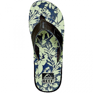 reef men's reef ht prints sandal- Save 35% Off - On Sale. Reef Men's Reef HT Prints Sandal FEATURES of the Reef Men's Reef HT Prints Sandal Soft, comfortable, water friendly synthetic nubuck upper Soft reef polyester woven lining Printed Footbed graphics Contoured EVA footbed with anatomical arch support Grippy molded reef rubber Outsole