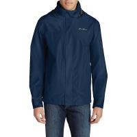 Eddie Bauer Men's Packable Rainfoil Jacket - XXL - Med Indgo
