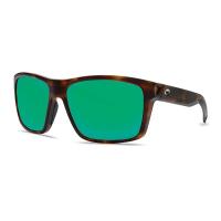 Costa Del Mar Slack Tide Polarized Sunglasses - One Size - Tortoise/Green 580G