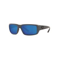 Costa Del Mar Men's Fantail Polarized Sunglasses - One Size - Gray/Blue W580