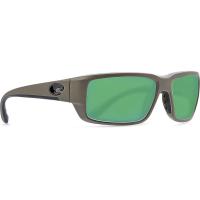 Costa Del Mar Men's Fantail Polarized Sunglasses - One Size - Green Mirror 580G