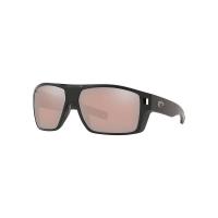 Costa Del Mar Men's Diego Sunglass - One Size - OSCP Matte Black/Copper Silver Mirror 580P