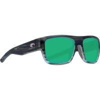 Costa Del Mar Men's Sampan Sunglass - One Size - Matte Reef/Green Mirror 580P