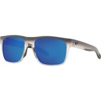 Costa Del Mar Spearo Sunglass - One Size - Ocearch Matte Fog Grey / Blue Mirror 580G