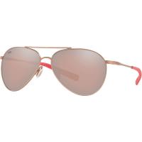 Costa Del Mar Piper Polarized Sunglasses - One Size - Copper Silver Mirror 580P