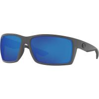 Costa Del Mar Men's Reefton Polarized Sunglasses - One Size - Gray/Blue 580P