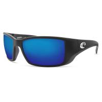 Costa Del Mar Men's Blackfin Polarized Sunglasses - One Size - Black/Blue 580P