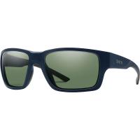 Smith Outback Elite ChromaPop Sunglasses - One Size - Matte Deep Ink/ChromaPop Green