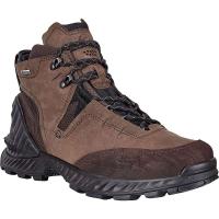 Ecco Men's Exohike High Boot - 46 - Mocha/Cocoa Brown