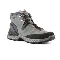 Ecco Men's Exohike High Boot - 43 - Black/Lake