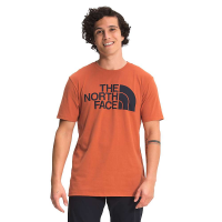 The North Face Men's SS Half Dome Tee - Large - Burnt Ochre