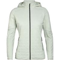 Icebreaker Women's Headwaters Hybrid Hooded Jacket - Medium - Frost