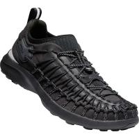 KEEN Men's Uneek SNK Sneaker Shoe - 8 - Black / Black